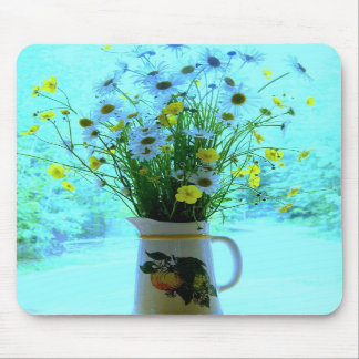 Wildflowers del azul del país tapetes de ratones