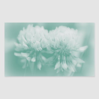 Wildflowers del trébol blanco rectangular altavoces