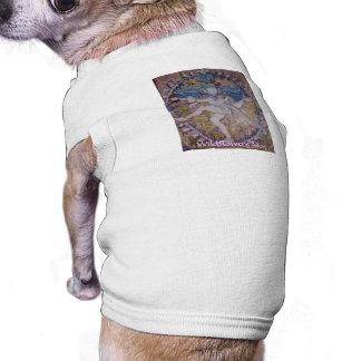 Wildflowers dog dog t shirt