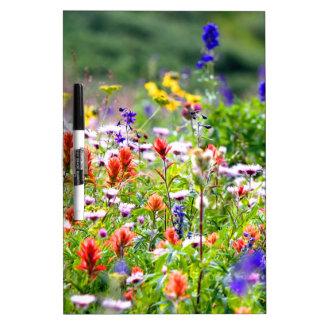 Wildflowers Dry Erase Board