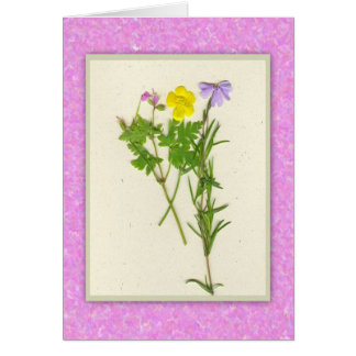 Wildflowers Easter Card (Large Font)