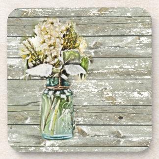 wildflowers elegantes del tarro de albañil del paí posavaso