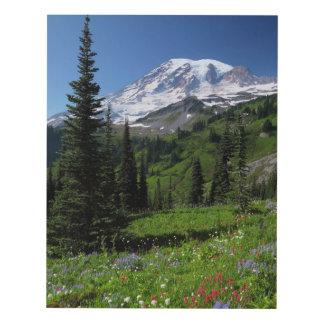 Wildflowers en el Monte Rainier