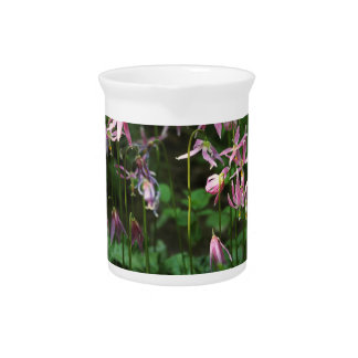 Wildflowers - Fawn Lilies Drink Pitchers