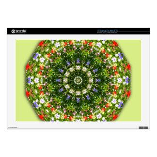 Wildflowers, Flor-Mandala Portátil 43,2cm Skins