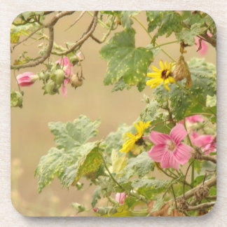 Wildflowers Flowers Floral Meadow Photography Beverage Coaster