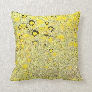 Wildflowers Flowers Rudbeckia Daisy Floral Meadow Throw Pillow