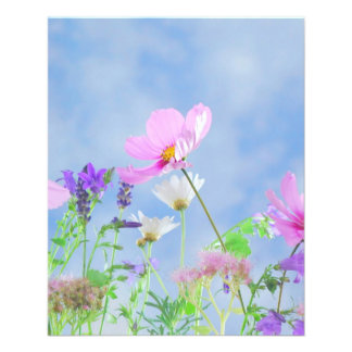 Wildflowers Custom Flyer