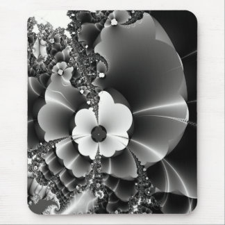 Wildflowers Fractal Design Mouse Pad