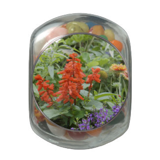 Wildflowers Glass Jars
