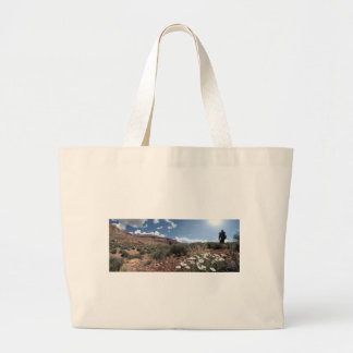 Wildflowers - Grand Canyon - Thunder River Trail Large Tote Bag