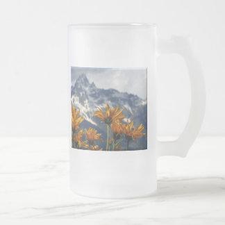 Wildflowers Grand Tetons Coffee Mugs