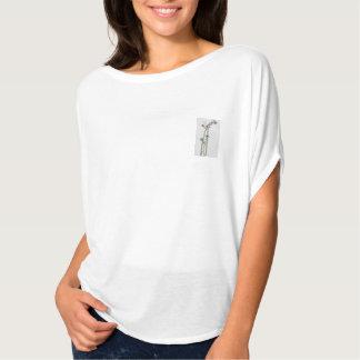 Wildflowers handpainted T-Shirt