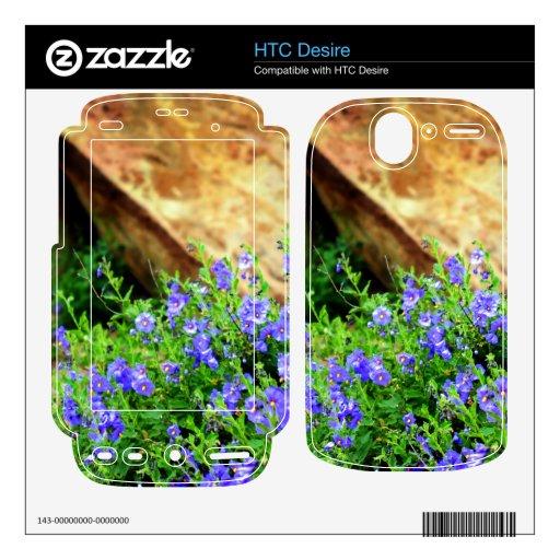Wildflowers HTC Desire Skins