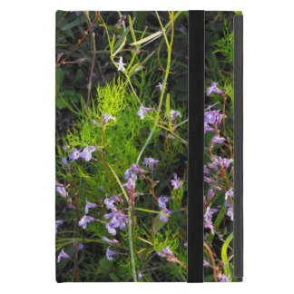 Wildflowers in a Field of Greens iPad Mini Cover