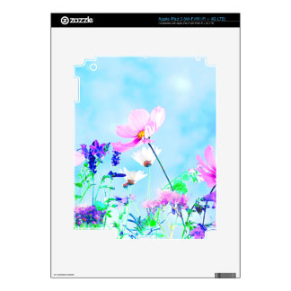 Wildflowers In Nature iPad 3 Decals