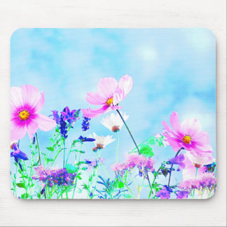 Wildflowers In Nature Mouse Pad