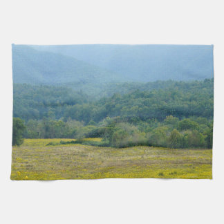 wildflowers in the Clouds Hand Towel