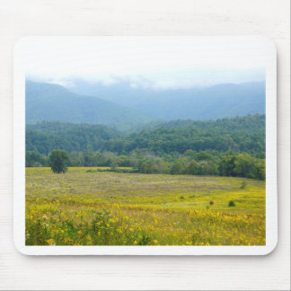 wildflowers in the Clouds Mousepads