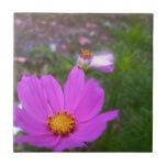 Wildflowers in the Garden Ceramic Tiles