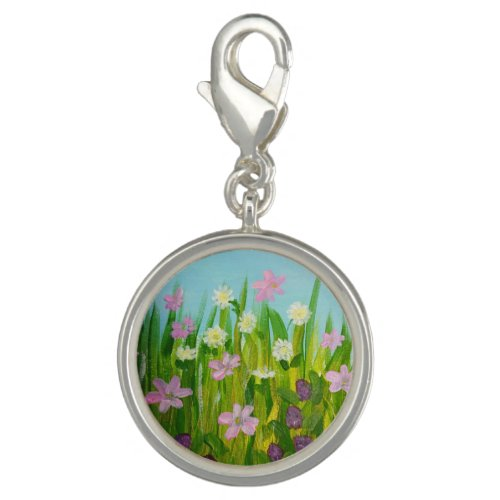 Wildflowers in the grass charm
