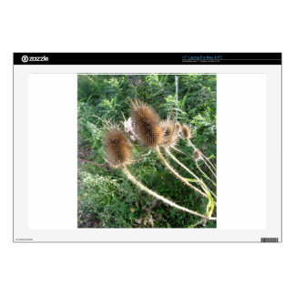 """Wildflowers in the woods 17"""" laptop decals"""