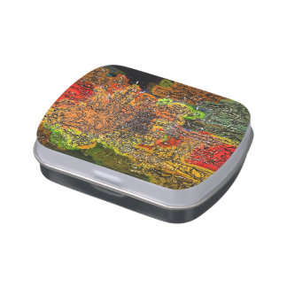 WILDFLOWERS JELLY BELLY CANDY TIN