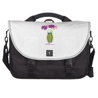 Wildflowers Laptop Bags