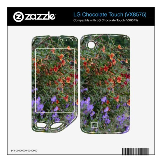 Wildflowers LG Chocolate Touch Decal