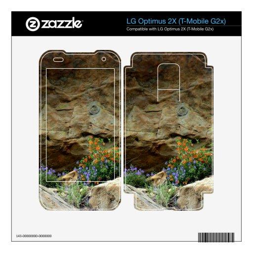 Wildflowers LG Optimus 2X Skins