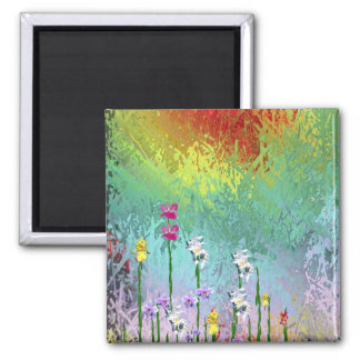 Wildflowers Refrigerator Magnets