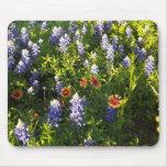 Wildflowers Mousepad de Tejas Alfombrilla De Ratones