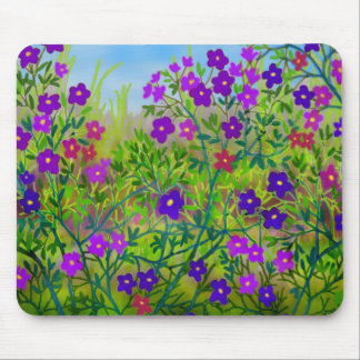 Wildflowers Mousepad del país