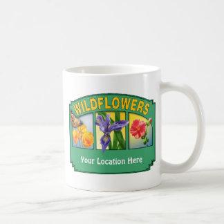 Wildflowers Mug Customizable