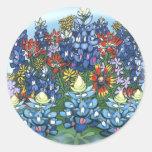 Wildflowers Pegatina