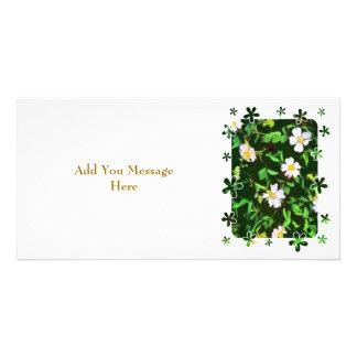 WILDFLOWERS PHOTO CARD TEMPLATE