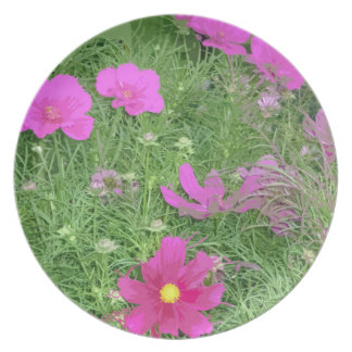Wildflowers Party Plate