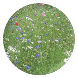 Wildflowers Dinner Plate