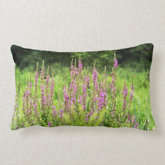 "Wildflowers Polyester Lumbar Pillow 13"" x 21"""