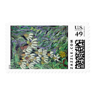 Wildflowers Postage Stamps