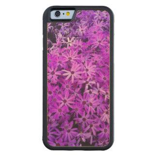 Wildflowers púrpuras para la esperanza funda de iPhone 6 bumper arce