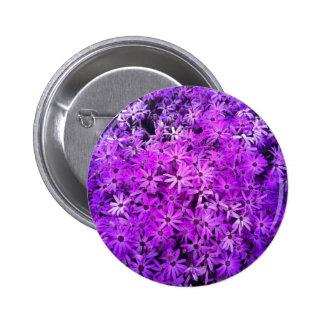 Wildflowers púrpuras para la esperanza pins