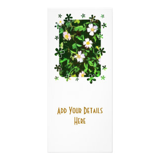 WILDFLOWERS CUSTOM RACK CARD