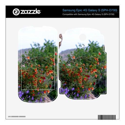 Wildflowers Samsung Epic Skins