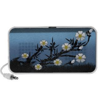 wildflowers iPod speakers