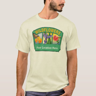 Wildflowers T-shirt Customizable