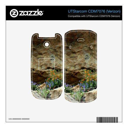 Wildflowers Teléfono UTStarcom Skins