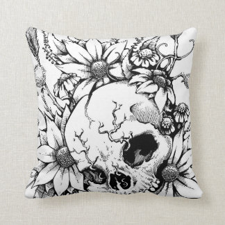 Wildflowers Throw Pillows