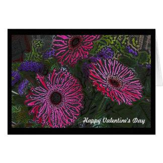 Wildflowers Valentine's Day Card