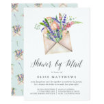 Wildflowers Virtual Baby or Bridal Shower By Mail Invitation